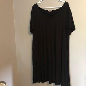 Women's 3X black dress